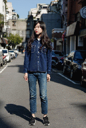 IN-S01 INDI DENIM 50'S WORKER SHIRT